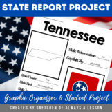 State Research Report Graphic Organizer