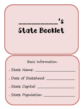 State Report Booklet