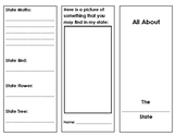 State Report Brochure Template