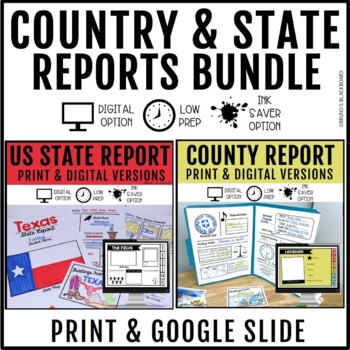 State Report & Country Report Bundle