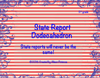 State Report Dodecahedron