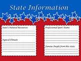 State Report Graphic Organizer