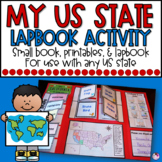 US States |  Lap Book and Activities