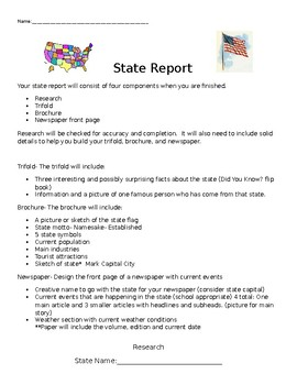 State Report: Multiple representations