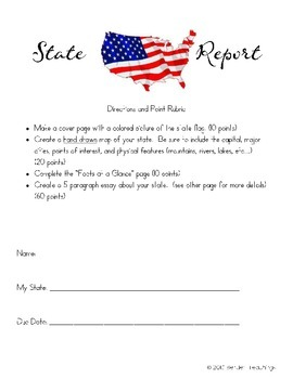 State Report Packet