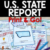 State Report Research and Writing Project