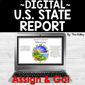 State Report Template for Google Drive