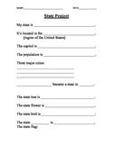 State Report Worksheet