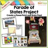 State Report Float Project | Editable PowerPoint State Rep
