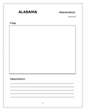 State Report and Research Worksheets