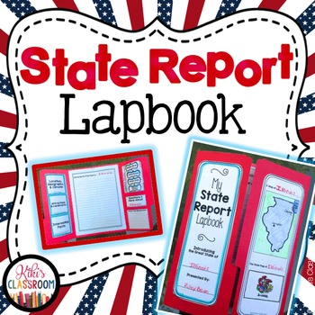 State Report - State Lapbook Freebie