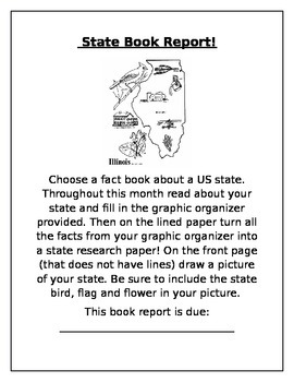 State Research Book Report