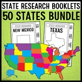 State Research Booklet Projects GROWING Bundle