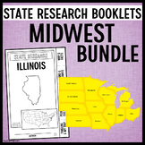 State Research Booklets Midwest Bundle