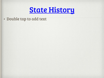 State Research - Digital Resource