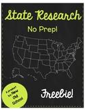 State Research Freebie