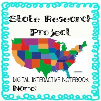 State Research Digtal Interactive Notebook