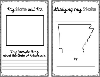 State Research & History Project {Arkansas}