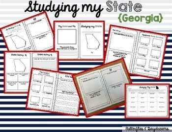 State Research & History Project {Georgia}