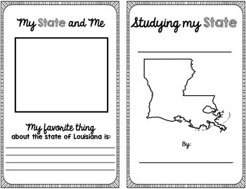 State Research & History Project {Louisiana}