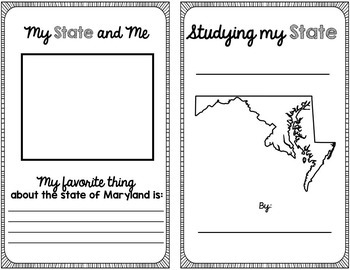 State Research & History Project {Maryland}