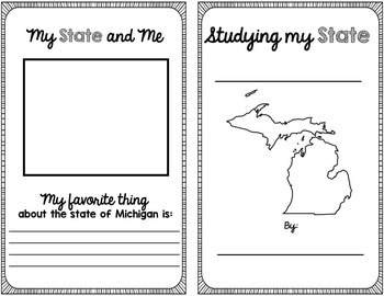 State Research & History Project {Michigan}