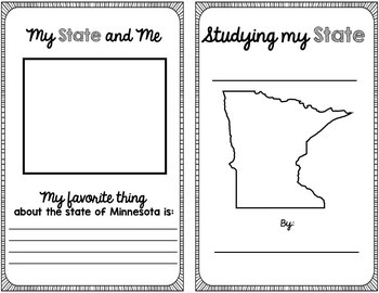 State Research & History Project {Minnesota}