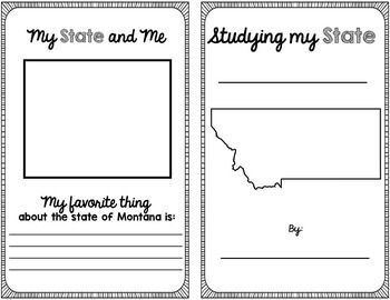 State Research & History Project {Montana}