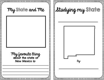 State Research & History Project {New Mexico}