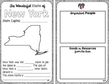 State Research & History Project {New York}
