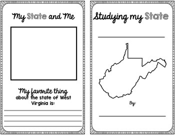 State Research & History Project {West Virginia}