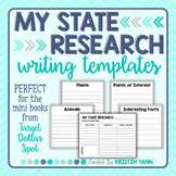 State Research & Informational Writing Templates (Dollar Spot blank books)
