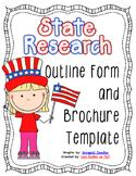 State Research Outline Form and Brochure Template