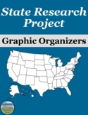 State Research Project Graphic Organizers