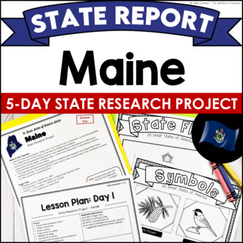 State Research Project: MAINE (Print-and-Go Paper State Report)