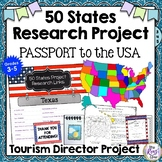 State Report Research  Passport to the USA Tourism Director of the 50 States