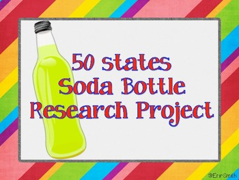 State Research Project-Soda Bottle Labels