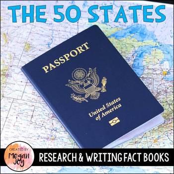 USA 50 States Research & Writing Bundle