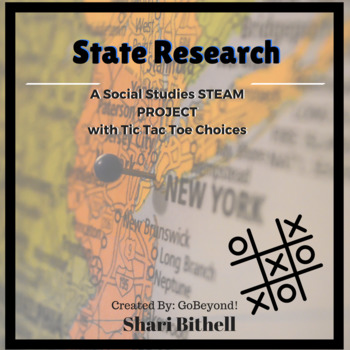 STEM Multiple Intelligence Tic Tac Toe - State Research Report