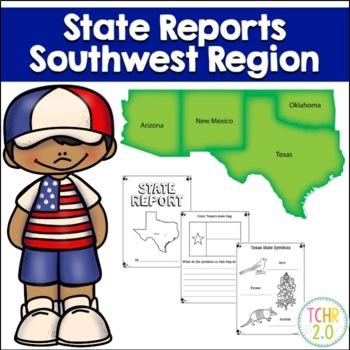 Southwest Region State Research Bundle
