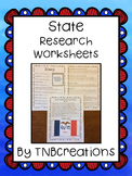 United States Research Project Worksheets