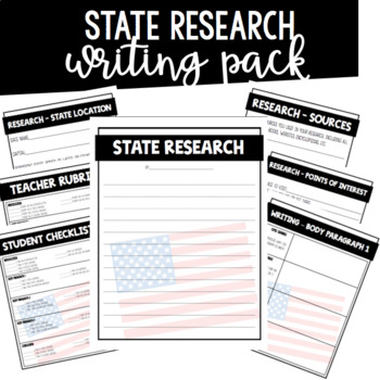 State Research Writing Pack