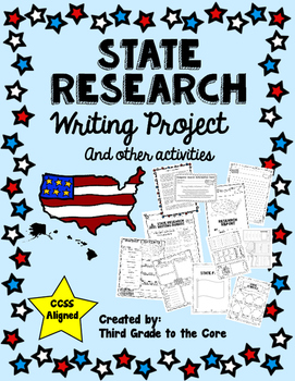 State Research Writing Project & Other Activites Common Core Aligned