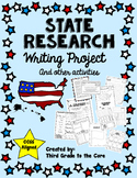 State Research Writing Project & Other Activites Common Co