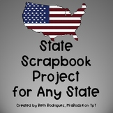 State Scrapbook Project for Any State ~ UPDATED!