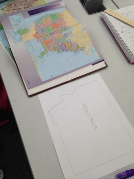 State Smackdown - Geography and Oral Presentation Project for Grades 5-12
