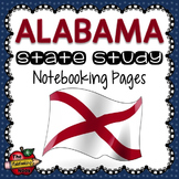 Alabama State Study Notebooking Pages