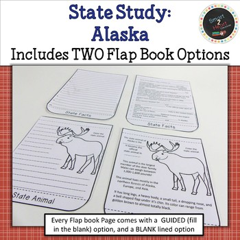 Alaska State Study Flap Book with Posters and Projects