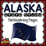 Alaska State Study Notebooking Pages
