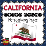 California State Study Notebooking Pages